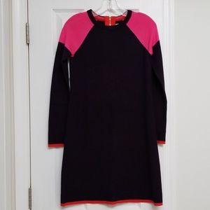 Eliza J Block Sweater Dress